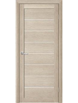 Межкомнатная дверь  Т-1 акация кремовая