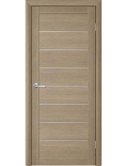 Межкомнатная дверь  T-1 лиственница латте