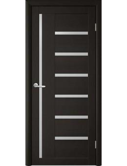 Межкомнатная дверь  Т-3 лиственница темная