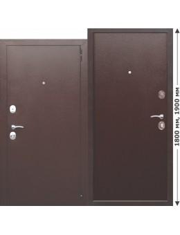 Входная дверь Гарда mini металл/металл