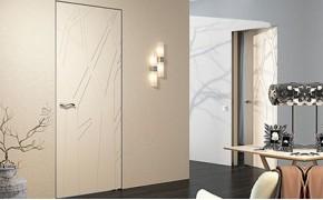 Двери-невидимки под обои