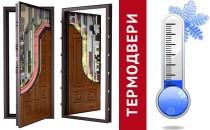 Уличные и входные термодвери