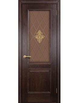 Межкомнатная дверь  Лорд  дуб патинированный