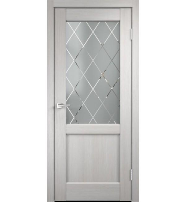 Межкомнатная дверь  Classico 3 2V дуб белый