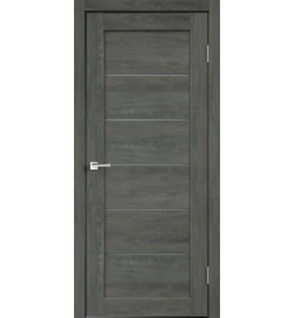 Межкомнатная дверь  LINEA 1 дуб шале графит