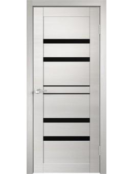 Межкомнатная дверь  LINEA 6 дуб белый поперечный