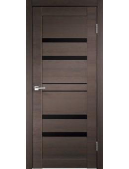 Межкомнатная дверь  LINEA 6 дуб венге браш