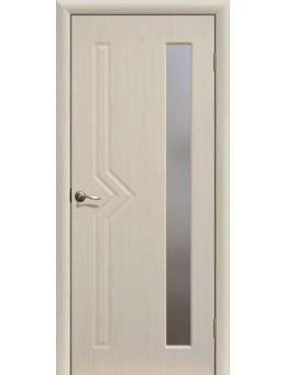 Дверь ПВХ Сигма ПО беленый дуб