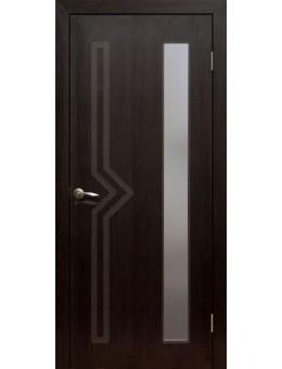 Дверь ПВХ Сигма ПО венге