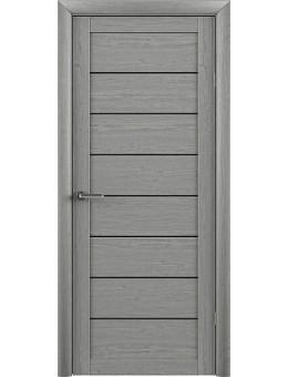 Межкомнатная дверь  Т1 ясень дымчатый