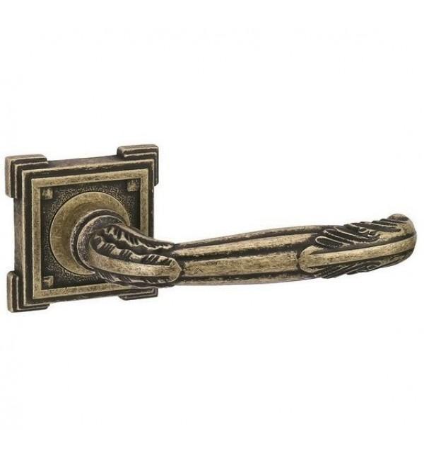 Дверная ручка ADDEN BAU — FLAMINGO VQ204 — AGED BRONZE состаренная бронза