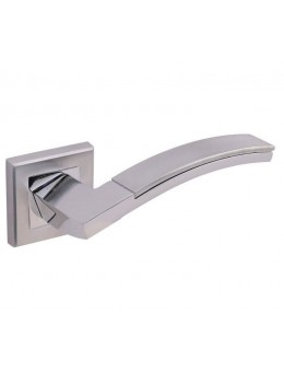 НОВИНКА Дверная ручка ADDEN BAU OBRA Q330 на квадратной розетке CHROME хром