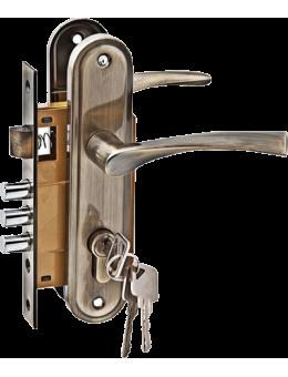 Комплект дверной PALIDORE LH7036-59AB, Бронза