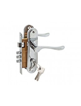 Комплект дверной PALIDORE LH7036-59SN, Хром