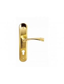 Ручка на стальной планке PALIDORE A-Х11PB матов. золото