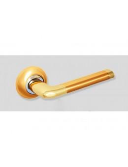 Ручка на розетке 47SB, матовое золото