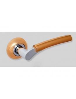 Ручка ЦАМ GPC/PB, хром матовый/золото