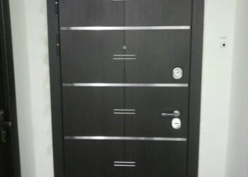 Стальная дверь Алмаз Кассиопея Дуб кантри (внешняя панель)