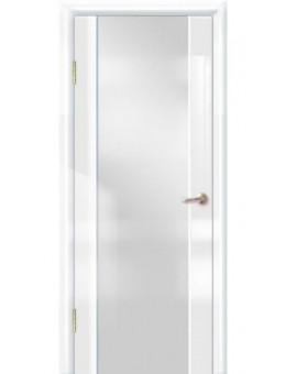 Межкомнатная дверь Диана белый глянец