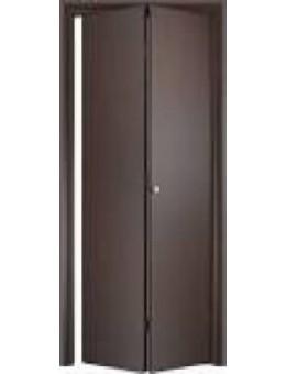 Дверь книжка ДПГ  венге, беленый дуб