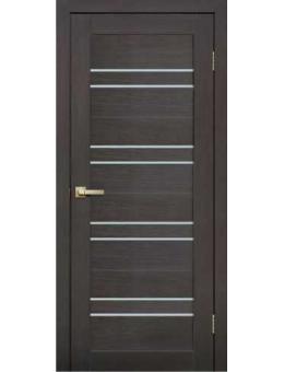Межкомнатная дверь  L 11 венге 3D