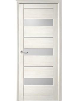 Межкомнатная дверь  Fly Doors L20 (бьянка, стекло)