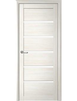 Межкомнатная дверь  Fly Doors L26 (бьянка, стекло)