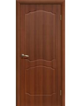 Дверь ПВХ Классика ПГ итальянский орех