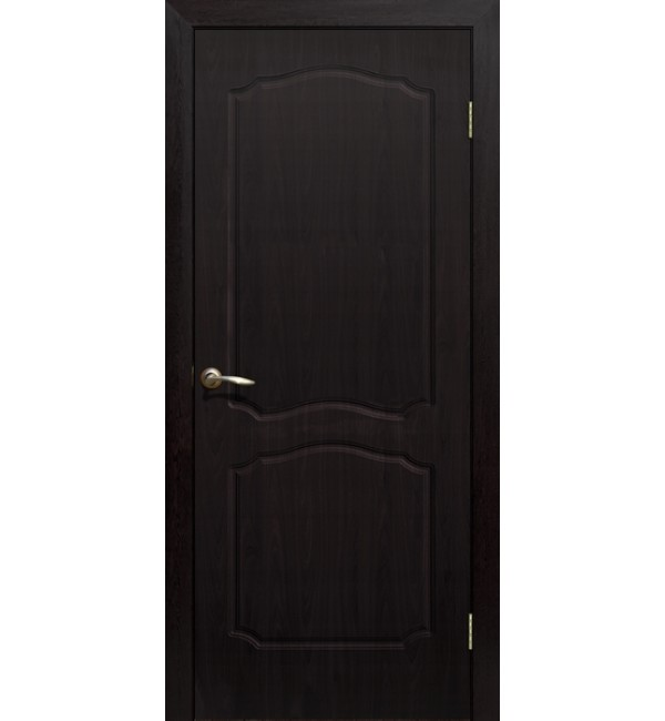 Дверь ПВХ Классика ПГ венге