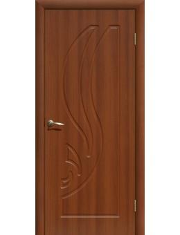 Дверь ПВХ Лилия ПГ Итальянский орех