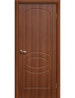 Дверь ПВХ Неаполь ПГ итальянский орех