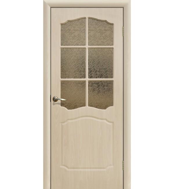 Дверь ПВХ Классика ПО беленый дуб