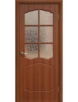 Дверь ПВХ Классика ПО итальянский орех