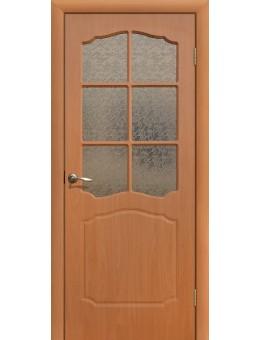 Дверь ПВХ Классика ПО миланский орех