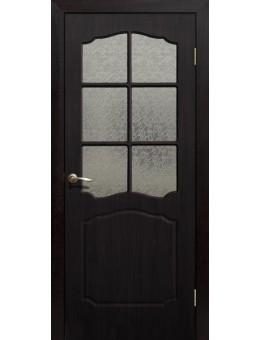 Дверь ПВХ Классика ПО венге
