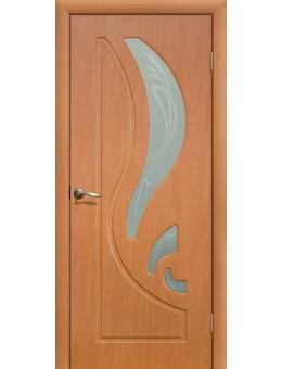 Дверь ПВХ Лилия ПО Миланский орех