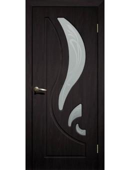 Дверь ПВХ Лилия ПО Венге