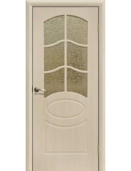Дверь ПВХ Неаполь ПО беленый дуб