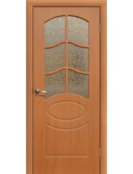 Дверь ПВХ Неаполь ПО миланский орех