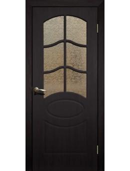 Дверь ПВХ Неаполь ПО венге