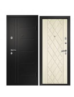 Входная металлическая дверь МЕДЕЯ-311 дуб молочный
