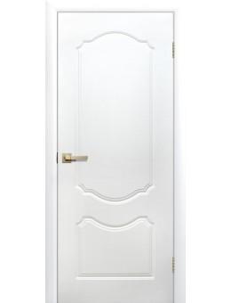 Межкомнатная дверь Симфония глухая белая