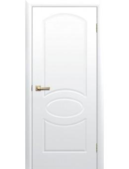 Межкомнатная дверь Соната глухая белая