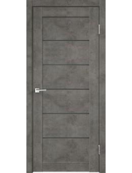 Межкомнатная дверь  LOFT 1 Бетон темно-серый