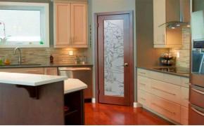 Выбираем двери для кухни