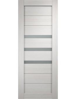 Межкомнатная дверь  Уника 5 стекло мателюкс , цвет белый