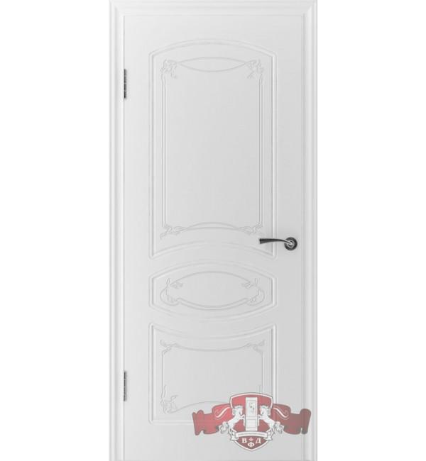Межкомнатная дверь Версаль глухая белая