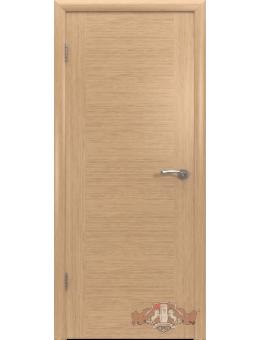 Межкомнатная дверь Рондо глухая светлый дуб
