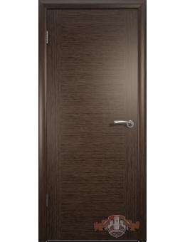 Межкомнатная дверь Рондо глухая венге