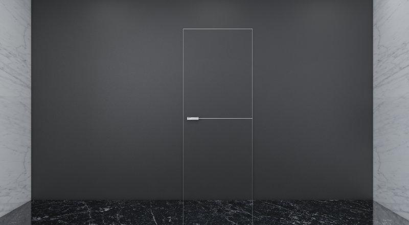 Дверь-невидимка в интерьере